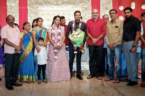 Actor Sathish - Sindhu Wedding Reception Stills 17