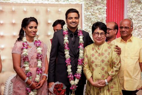 Actor Sathish - Sindhu Wedding Reception Stills 25