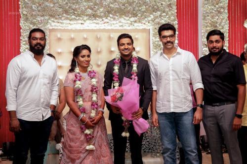Actor Sathish - Sindhu Wedding Reception Stills 26