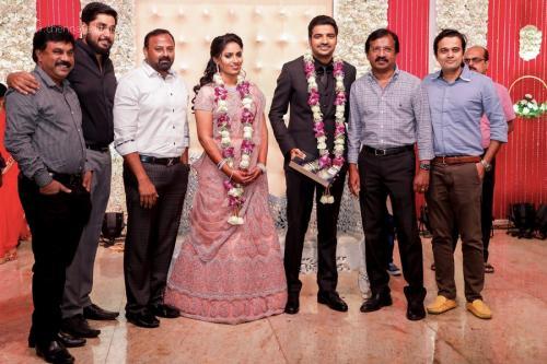 Actor Sathish - Sindhu Wedding Reception Stills 39