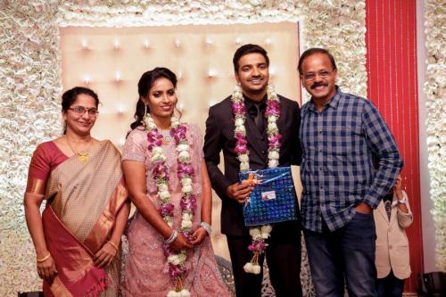 Actor Sathish - Sindhu Wedding Reception Stills 41