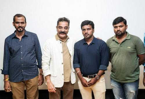 Appathava Aattaya Pottutanga  First Look Released by Kamal Haasan21