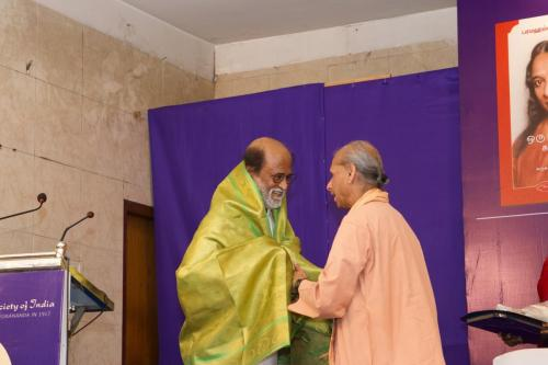 Rajinikanth At Autobiography of a Yogi  (5)