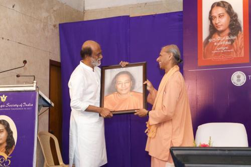 Rajinikanth At Autobiography of a Yogi  (6)